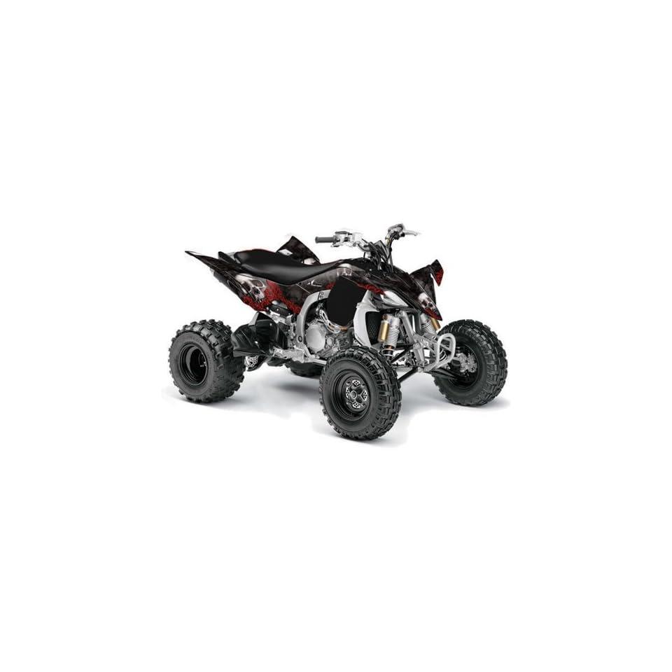 AMR Racing 2009, 2010 Yamaha YFZ 450 ATV Quad, Graphic Kit   Bone Collector