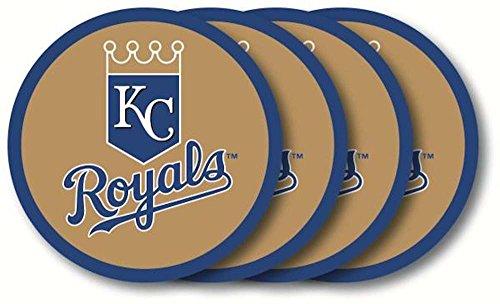 Royals Coaster Set (MLB Kansas City Royals Coaster Set (4-Pack))
