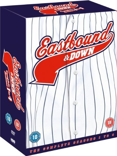 Reg Series Box - Eastbound & Down (Complete Seasons 1-4) - 8-DVD Box Set ( East bound and Down - Complete Seasons One, Two, Three & Four ) [ NON-USA FORMAT, PAL, Reg.2 Import - United Kingdom ] by Danny McBride