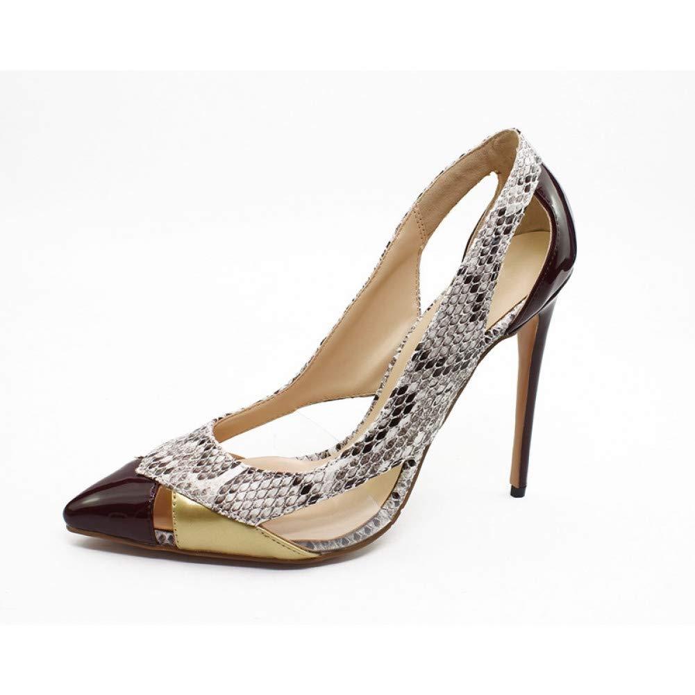 Ai Ya-liangxie Frauen Pumpen Mode Schuhe Aus Echtem Leder Stiletto High Heels Schuhe Frühling Sommer Hochzeit Schuhe Frau Partei Pumpen  | Perfekt In Verarbeitung