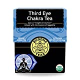 Organic Third Eye Chakra Tea - Kosher, Caffeine Free, GMO-Free - 18 Bleach Free Tea Bags