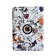 inShang Case for iPad Air 2 iPad 6 iPad6 (2014-2015 Version) Premium PU Leather Case cover stand - 360 degree rotating Style Auto Sleep/Wake Case