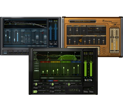 iZotope Studio Bundle Including iZotope Alloy, 2 Nectar 2, and Ozone 6 Plug-ins - RTAS/AudioSuite, AU, and VST (Digital Download Only) Best Vst Plug Ins