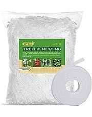 BaseGoal All-Weather Trellis Netting Mesh Plant Garden Vine Growing Flexible String Net