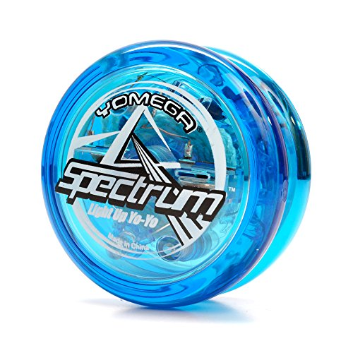 Yomega Spectrum – Light up Fireball Transaxle YoYo with LED Lights for Intermediate, Advanced and Pro Level String Trick Play (Colors May Vary)