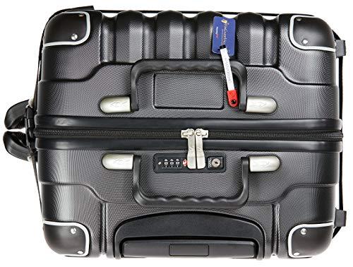 VinGardeValise - Up to 12 Bottles & All Purpose Wine Travel Suitcase (Black) by VinGardeValise (Image #6)