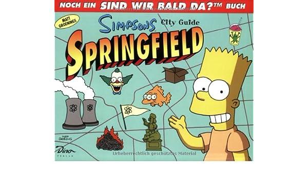 simpsons city guide springfield 9783897481336 books amazon ca rh amazon ca LEGO Simpsons Springfield Springfield School Simpsons