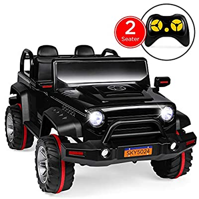Best Choice Products Kids 12V RC 2-Seater Ride-On Truck with, LED Lights/Sounds, MP3 from Best Choice Products