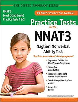 Nnat3 2 practice tests level c 2nd grade in color publisher of nnat3 2 practice tests level c 2nd grade in color publisher of the 1 cogat practice test mercer publishing 9781937383268 amazon books fandeluxe Gallery