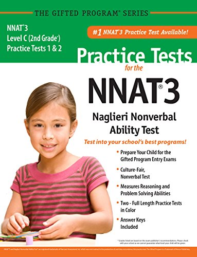 NNAT3® 2 Practice Tests Level C (2nd Grade) in Color_ Publisher of the #1 CogAT® Practice Test