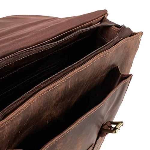 Satchel Bags, Borsa a secchiello donna marrone