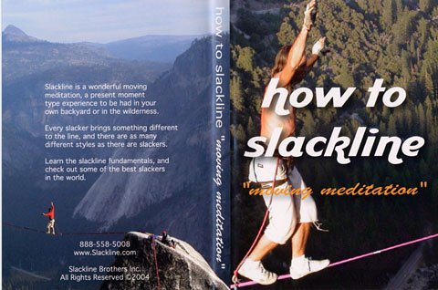 How to slackline meditation DVD