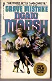 Grave Mistake, Ngaio Marsh, 0515053694