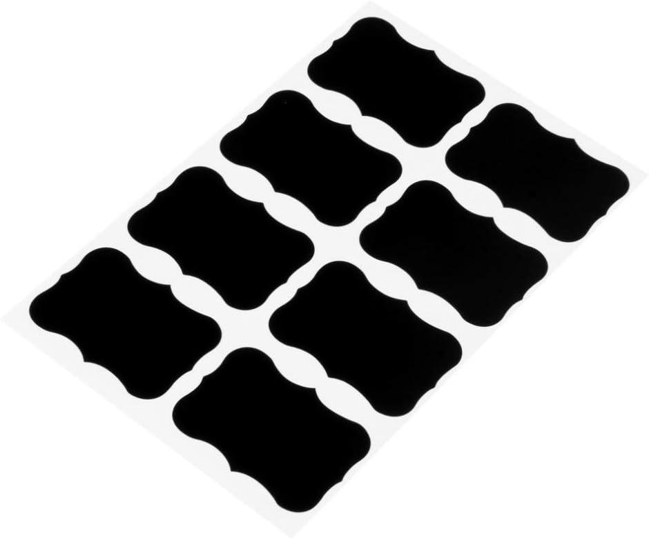 Festnight Chalkboard Labels Pantry Storage Stickers Decorative Reusable Waterproof Blackboard Sticker