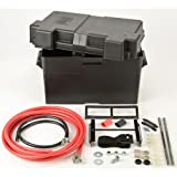 Automotive/Marine Type Battery Relocation Kit w/Box and Cables JEGS 10278