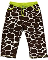 Long Day-Giraffe Spots PJ Capri Pant by Lazy One