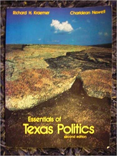 Essentials of Texas politics