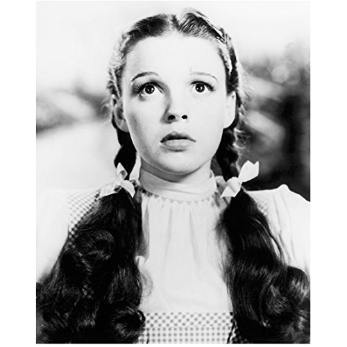 (The Wizard of Oz Judy Garland as Dorothy Looking Nervous 8 x 10 Inch Photo )