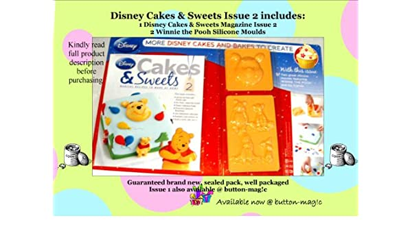 DISNEY tartas y ejemplar de caramelos NO, 2 Incluye: 2 Winnie the ...