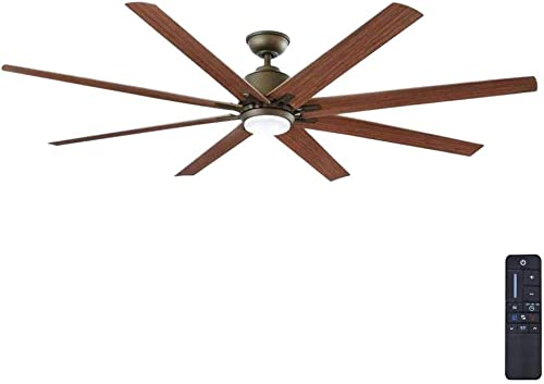 Home Decorators Collection Kensgrove 72 in. LED Indoor/Outdoor Espresso Bronze Ceiling Fan YG493OD-EB