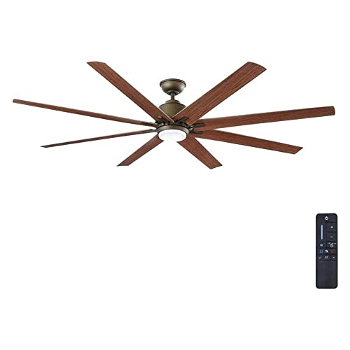 Home Decorators Collection Kensgrove 72 in. LED Indoor Outdoor Espresso Bronze Ceiling Fan YG493OD-EB