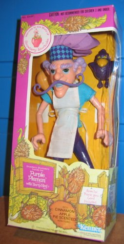 Vintage 1980's Strawberry Shortcake Figure Purple Pieman W/box ()