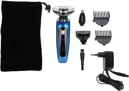 Afeitadora Eléctrica 3 En 1 Lavable 3D Hombres Afeitadora ...