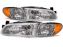 Pontiac Grand Prix New Headlamps Set Headlights Pair