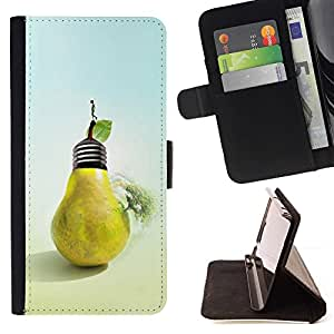 Momo Phone Case / Flip Funda de Cuero Case Cover - Fruta creativa - Sony Xperia M5