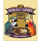 Higgins Worldly Cuisines Spice Market Cook, Cool and Serve Gourmet Bird Food, My Pet Supplies