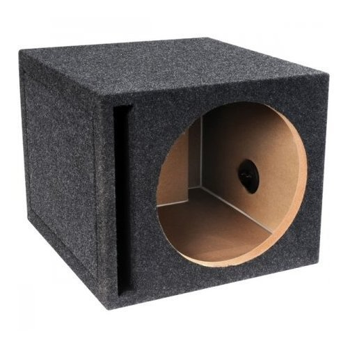 - Absolute VEGS12 Box Series 12-Inch Single Slot Vented Subwoofer Enclosure