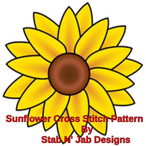 (Sunflower Cross Stitch Pattern)
