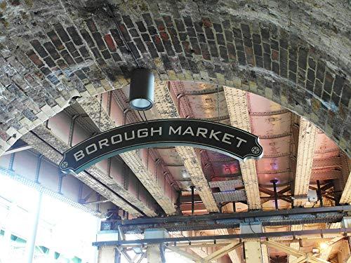 (Home Comforts Canvas Print Borough Market London United Kingdom Vivid Imagery Stretched Canvas 32 x 24)