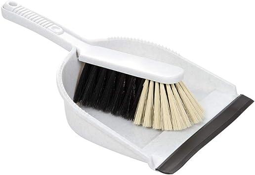 Wenco escoba y recogedor profesional gris con labio, 1er Pack (1 x 30 unidades): Amazon.es: Salud y cuidado personal