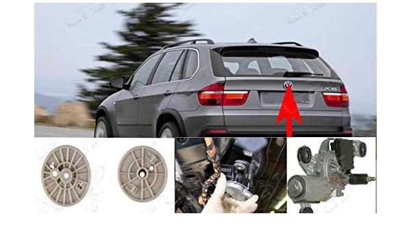 X5 E53 E70 trasero ventana parabrisas limpiaparabrisas motor reparación Gear: Amazon.es: Coche y moto