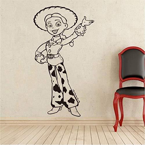 ZHUWall Pegatinas Toy Story Jessie Tatuajes De Pared De Dibujos ...