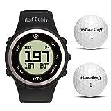 Golf Buddy WT6 Golf GPS Watch Range Finder with Wilson Staff Duo Golf Ball Bonus