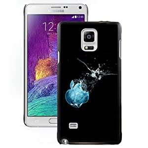 Apple Ice Hard Plastic Samsung Galaxy Note 4 Protective Phone Case