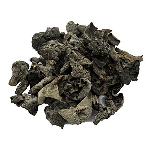 Soeos Dried Woodear Mushroom, Dried Black Fungus (8.8 oz)