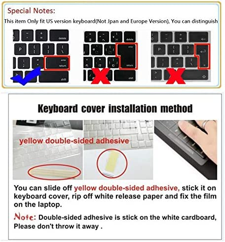 Laptop Ultra Thin Clear Transparent Tpu Keyboard Cover Protectors for Dell Latitude 3380 13.3 without pointing