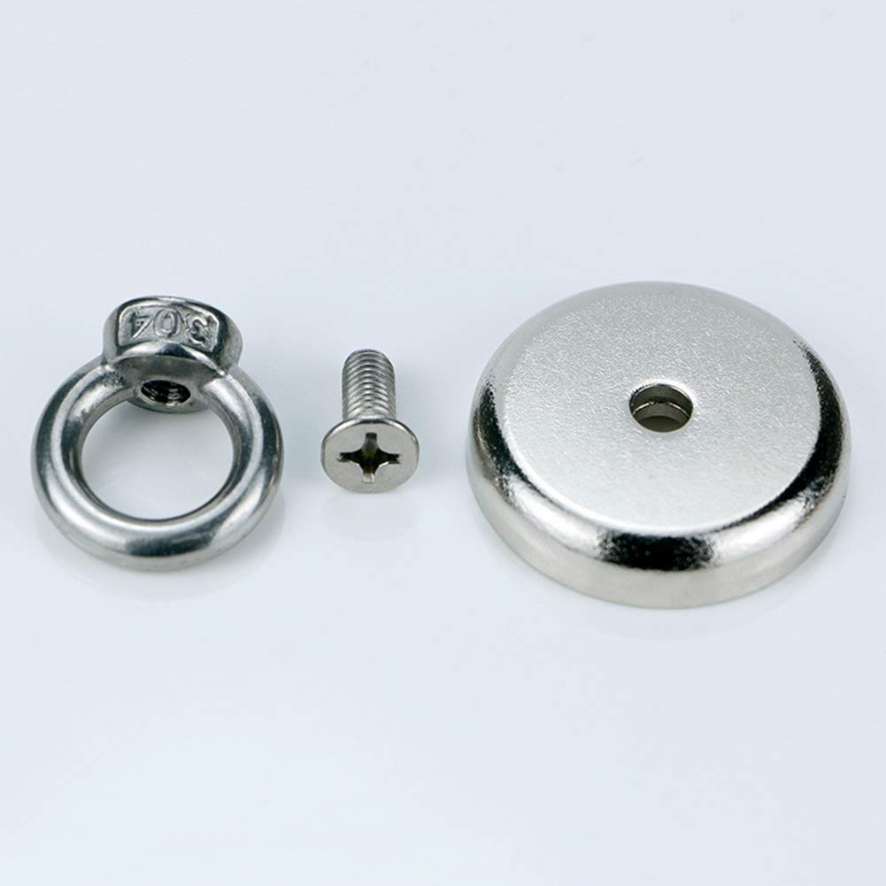 Zoomarlous Neodymium Magnet Super Strong Powerful Salvage Hook Fishing Magnetic Circular by Zoomarlous (Image #6)