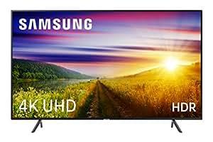 """Samsung 55NU7105 - Smart TV de 55"""" 4K UHD HDR (Pantalla Slim, Quad-Core, 3 HDMI, 2 USB), Color Negro (Carbon Black)"""