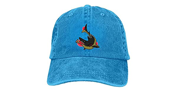 Shark Old School Tattoo Unisex Washed Ajustable Vintage Cowboy Hat ...