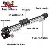 High Speed 1000 MM 40 INCH Stroke Belt Drive Linear Guide Rail Motion Slide Actuator Module for CNC Linear Position Kit