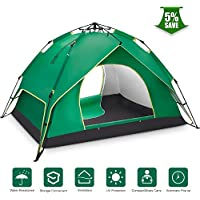 Ylovetoys Camping Tent, 3-4 Person Instant Pop Up...