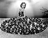Carole Landis Modeling Seersucker Evening Gown In Seafoam With Accents Of Pique 1940 Photo Print (20 x 16)