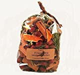 Orange Pomander dried potpourri made with sprigs of cedar, berries, organic spices and pure essential oils of Orange and Clove. Packaged in 3cup size bag with label. Free Shipping!