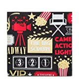 Movie Night Napkins Table Decoration Party Supplies Special Events 25 Count