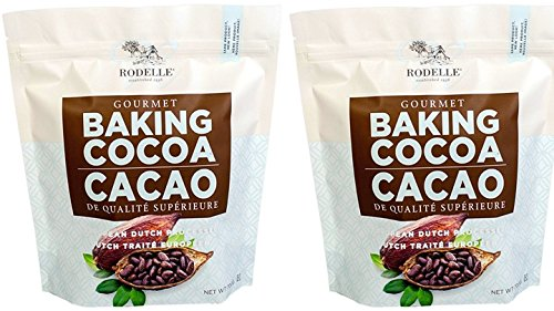 Rodelle Gourmet Baking Cocoa, 1.54 Pound, Pack of 2 by Rodelle
