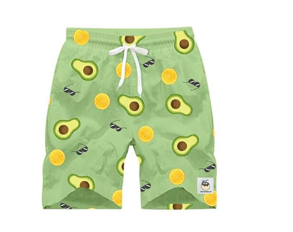 Tqzx Beach Pants Mens Summer Couple Pants Men and Women Quick-Drying Loose Large